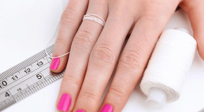 Как самостоятельно узнать размер кольца?
