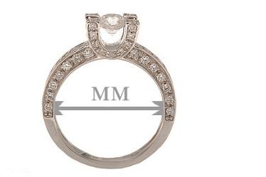 16 размер кольца – это сколько мм?