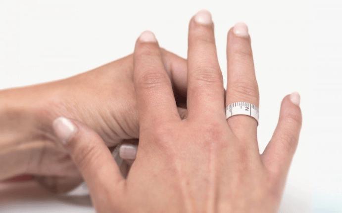 Как определить размер кольца самому дома