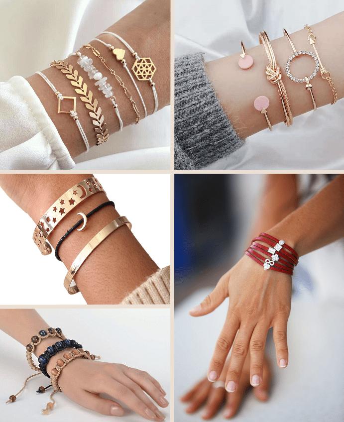 Разновидности и значение браслетов на запястье для девушки. Виды браслетов