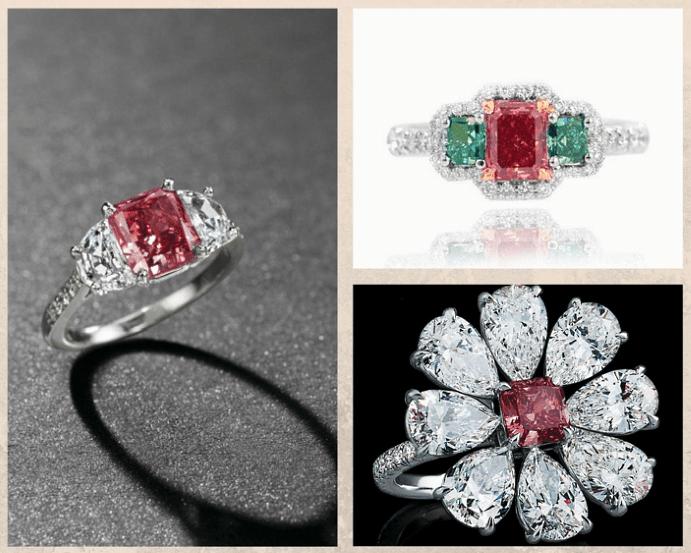 Красный алмаз — камень для инвесторов и коллекционеров, оттенки, месторождения, свойства.