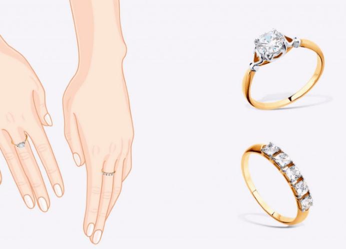 На каком пальце носить кольцо, что значит носить кольцо на среднем пальце