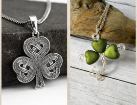Подвеска Трилистник — символ Ирландии
