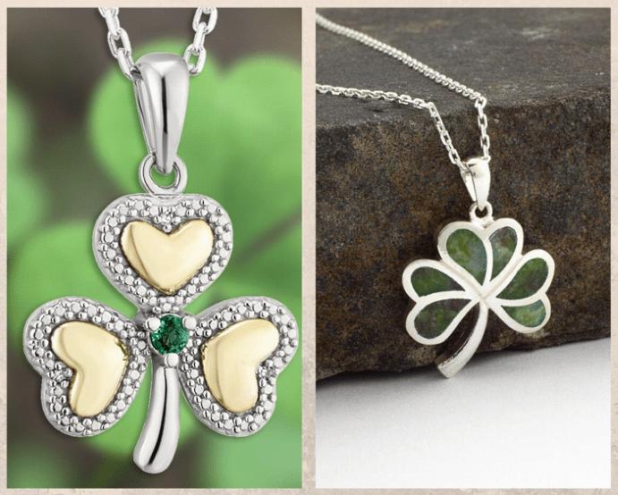 Подвеска Трилистник — символ Ирландии. История символа.