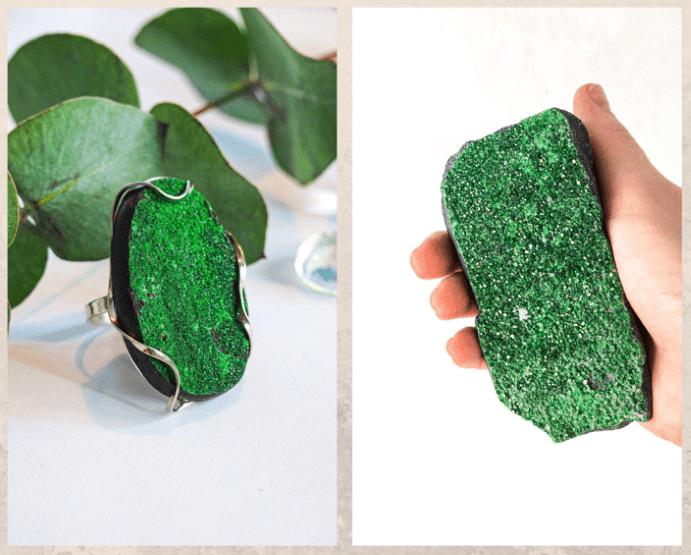 Уваровит — императорский камень. Цвета и свойства драгоценного камня