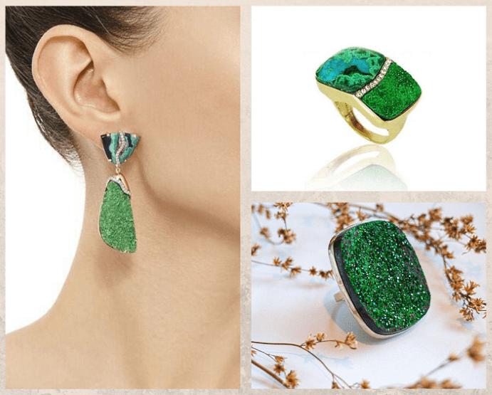Уваровит — императорский камень, применение в ювелирном деле, хранение и уход