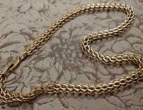 Особенности венецианского плетения цепочки
