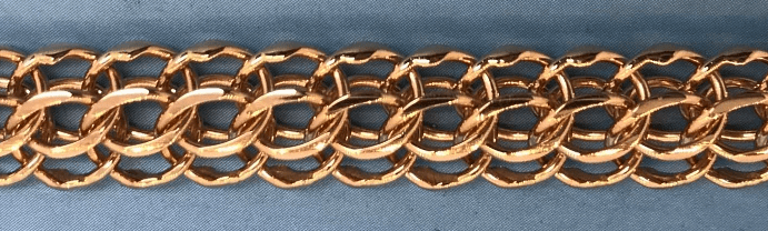 Преимущества венецианского плетения цепи