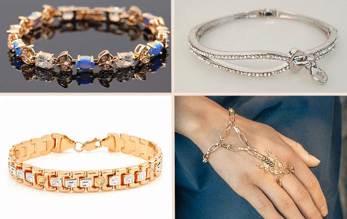 Какие бывают браслеты на руку? глидеры, слайв, цепочки со вставками из камней