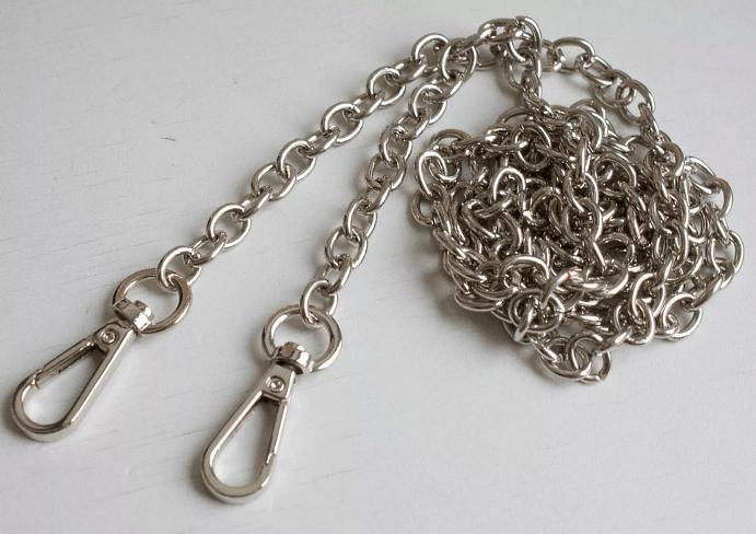 Замена замка на серебряной цепочке