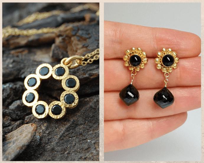 10 удивительных черных камней. Шпинель