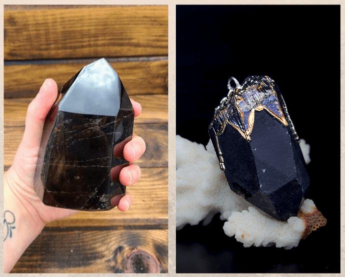 10 удивительных черных камней. Морион