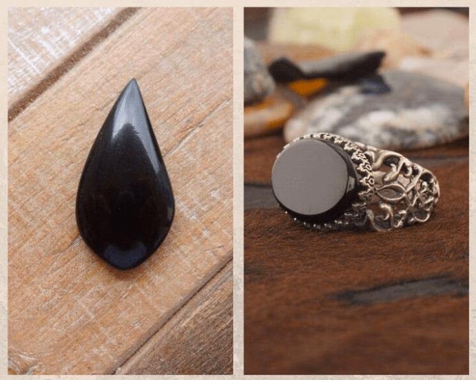 10 удивительных черных камней. Гагат
