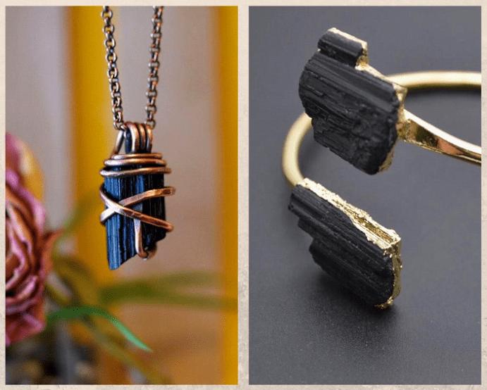 10 удивительных черных камней. Шерл, шерлит
