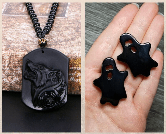 10 удивительных черных камней. Обсидиан