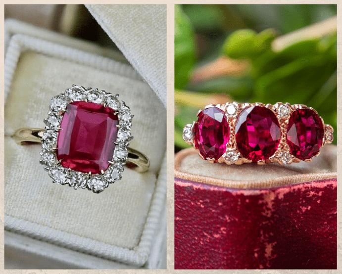 10 самых популярных красных камней. Рубин