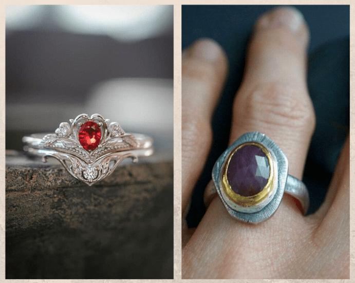10 самых популярных красных камней. Красный сапфир