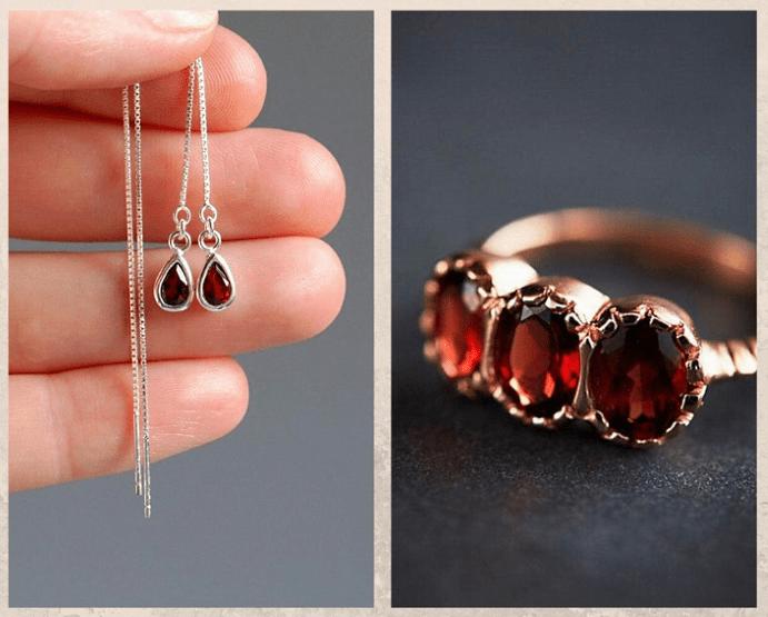 10 самых популярных красных камней. Гранат