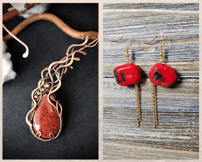 10 самых популярных красных камней. Яшма