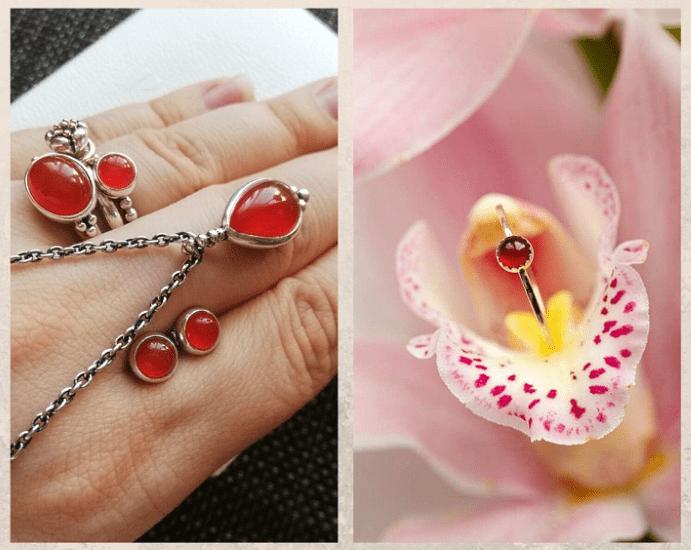 10 самых популярных красных камней. Сердолик