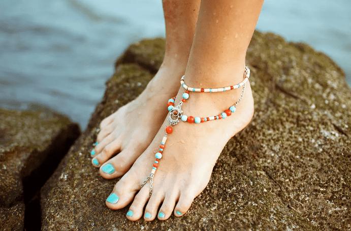 Какие плетения подходят для цепочек на ноге? анклет