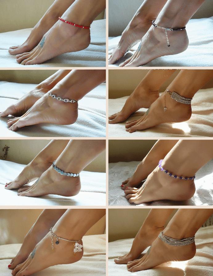 Цепочка на ноге: как и кто носит такие изделия?