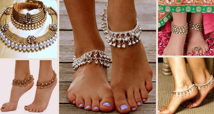 Какие плетения подходят для цепочек на ноге?