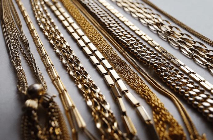 Дизайн звеньев для золотых цепей