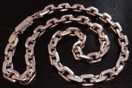 Золотые цепочки: виды плетения. Якорное