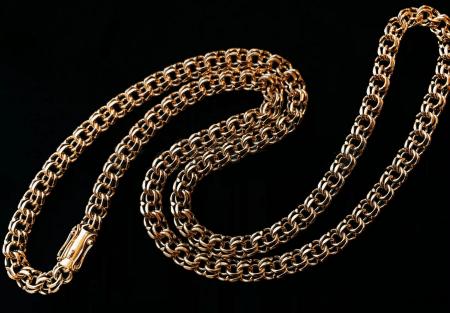 Золотые цепочки: виды плетения. Кардинал