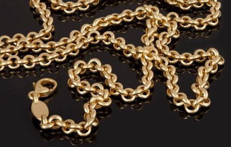 Золотые цепочки: виды плетения. Ролло