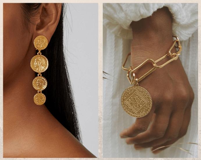 Украшения из монет: мода на все времена. Как носить