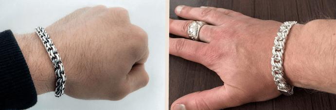 Мужские цепочки на руку: самые популярные решения