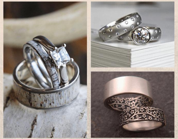 Парные обручальные кольца: украшение для двоих
