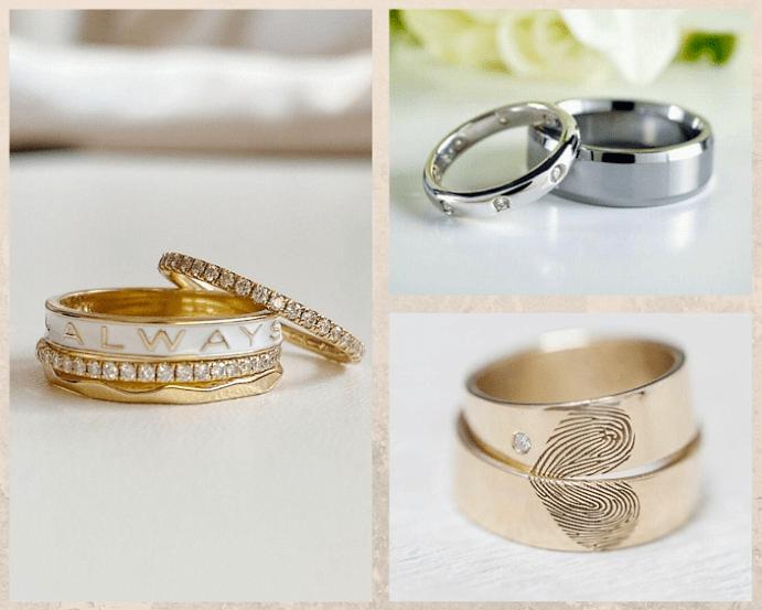 Парные обручальные кольца: украшение для двоих. Популярные варианты