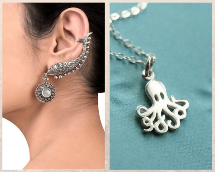 Украшения в морском стиле: осьминоги, морские звезды и все-все-все