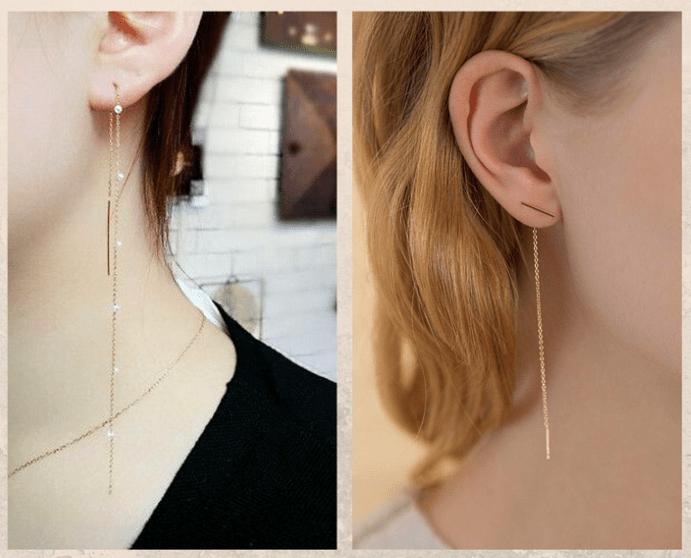 Серьги-цепочки: нежные и легкие. Как надеть правильно, как носить днем и вечером
