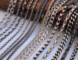 Виды плетения цепочек из серебра: как подчеркнуть индивидуальность