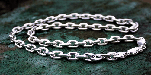 Серебряные цепочки – самые популярные виды плетения. Якорь, якорное