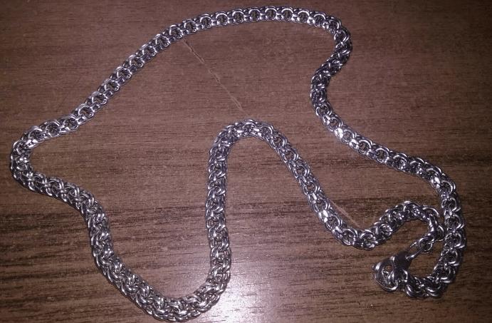 Особенности скрепления элементов серебряной цепи
