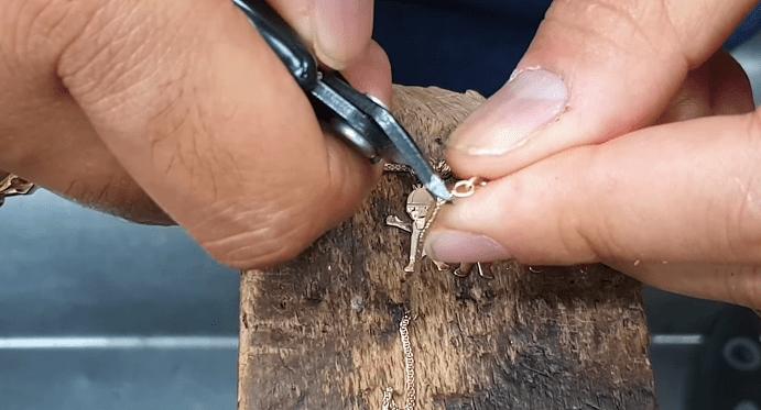 Укоротить золотую цепь в домашних условиях: пошаговая инструкция