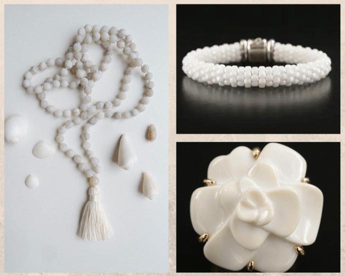 10 белых драгоценных камней. Агат