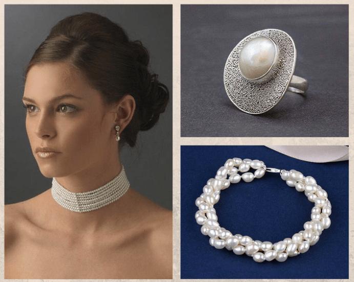 10 белых драгоценных камней. Жемчуг