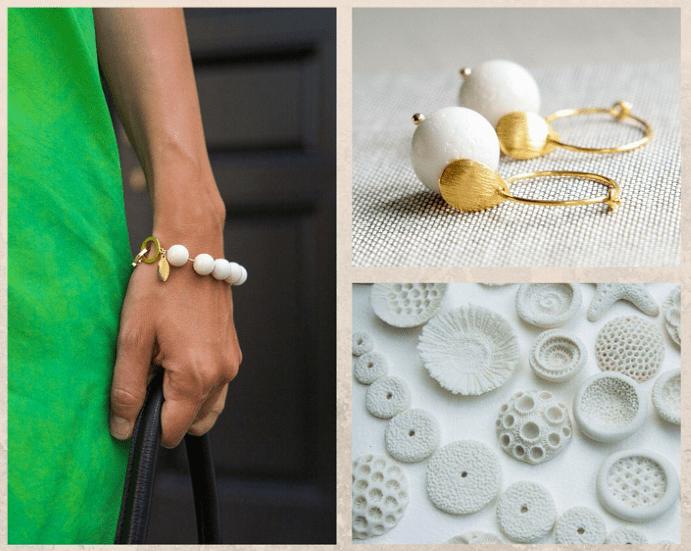 10 белых драгоценных камней. Коралл