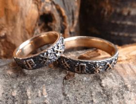 Языческие обручальные кольца