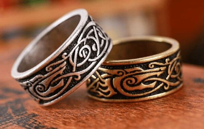 Языческие обручальные кольца. Кто придумал обмениваться кольцами