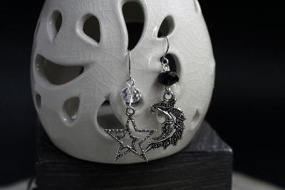 Стильные серьги из серебра: что предлагают ювелиры. Непарные сережки, асимметрия