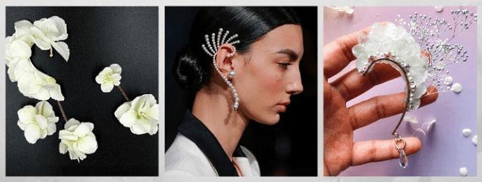 Все о том, какими бывают женские серьги: 40 вариантов на выбор. Каффы