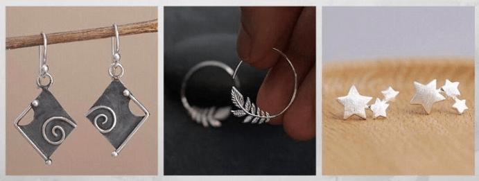 Все о том, какими бывают женские серьги: 40 вариантов на выбор. Серебряные серьги