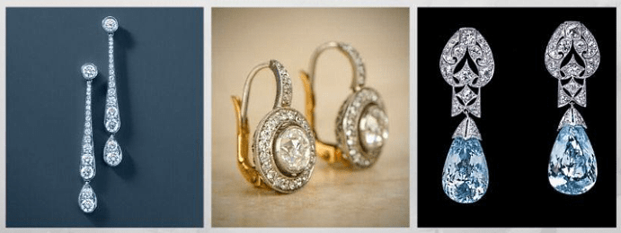 Все о том, какими бывают женские серьги: 40 вариантов на выбор. Платиновые серьги